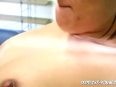 old guy fucks a youthful pussy