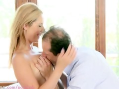 mommy breasty d like to fuck receives creampied