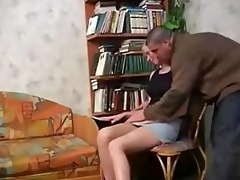 real daughter receive drilled by step daddy in