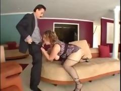 big beautiful woman school teacher fucks to save