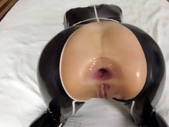 balls deep anal fucking (cock and balls in