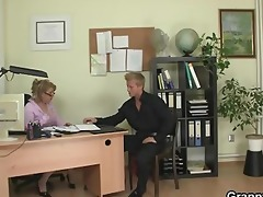 office lady gets fucked him hard