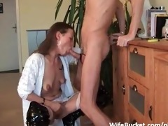 fucking the wife in the throat