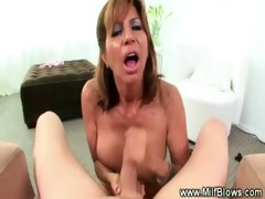 milf gives unfathomable oral stimulation whilst
