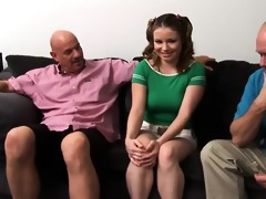 tatiana arrives to give the guys abode a thorough